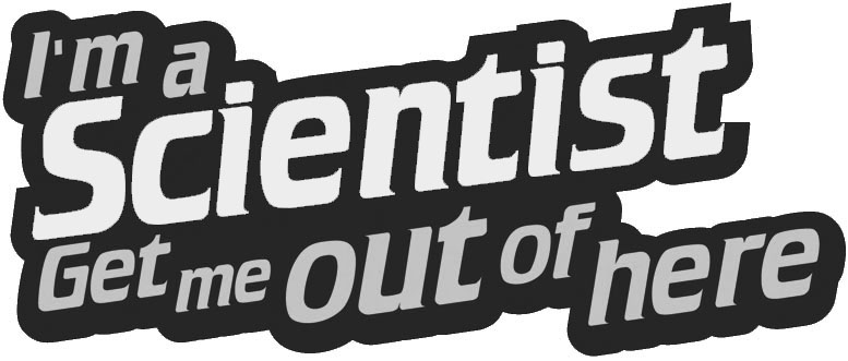 I'm a Scientist black and white logo