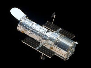 Photograph of the Hubble Space Telescope